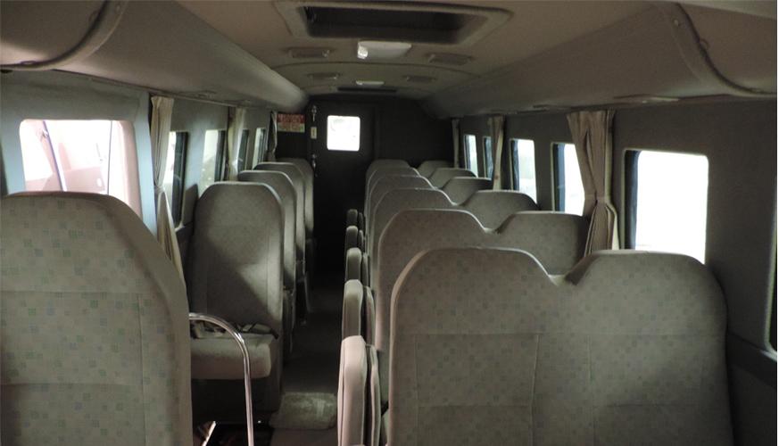 BulletProof Toyota Bus